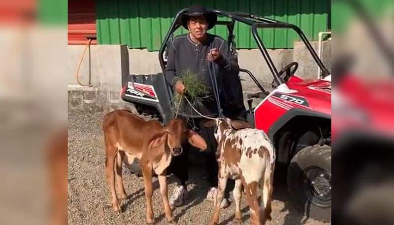 DHARMENDRA SHARE VIDEO FROM HIS FARM HOUSE