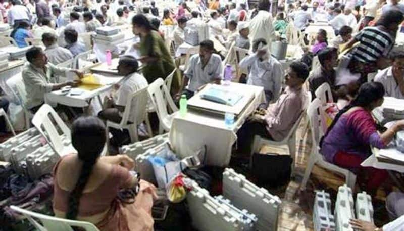 election commission sets all arrangements for huzurnagar counting