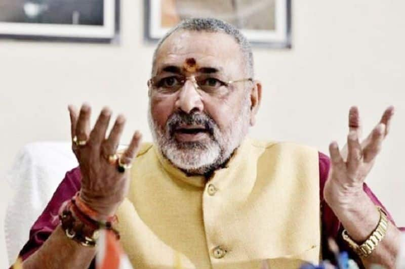 Giriraj singh did sarcasm on nitish iftar party, politics blew up in state