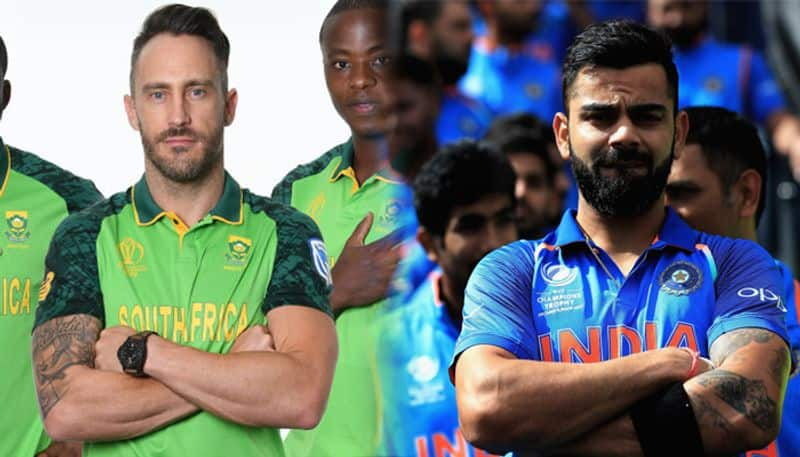 ICC world Cup India will take on South Africa