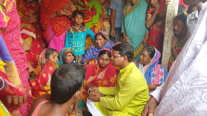 TMC minister Shyamal Santram accuses BJP of political murder in Bengal Bankura