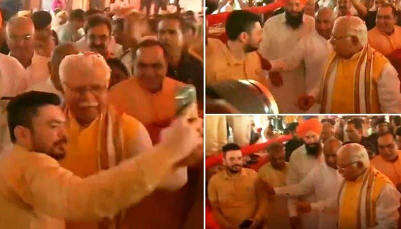 Chief Minister who threw cellphone to try to take Selfie