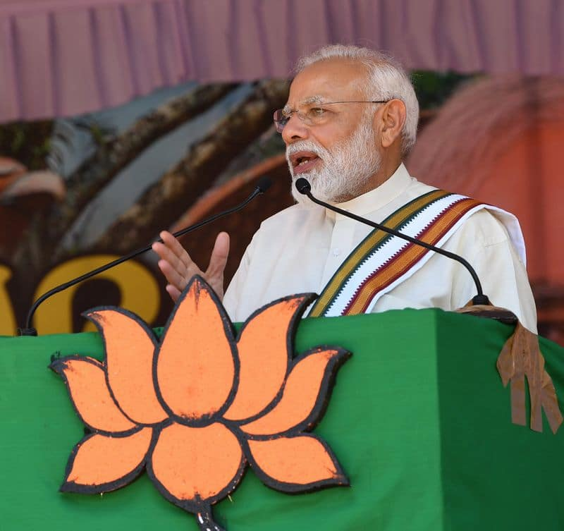 Kerala is as much mine as Varanasi says PM Modi at rally after prayers at Guruvayur temple Thrissur