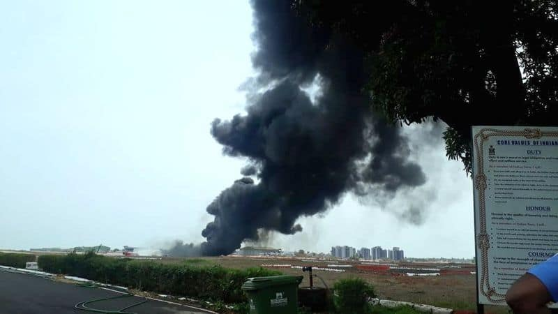 Goa Airport Opens After Fire from MiG-29K Dropped Fuel Tank During Take-Off