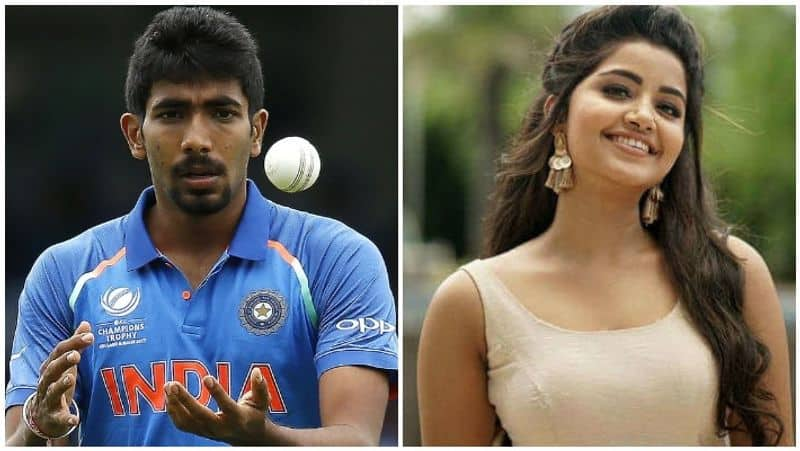 rumours about indian cricket bowler bumrah wth actress anupama