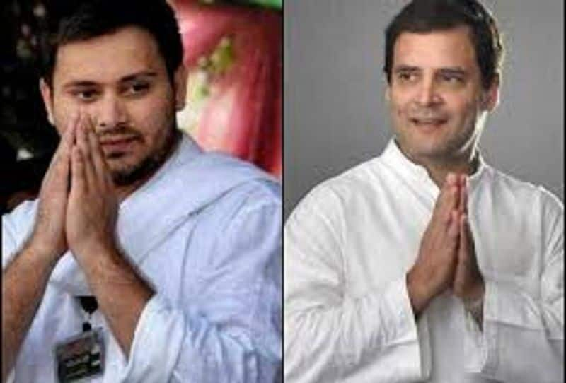 Congress had given advice to rjd to avoid agitation against upper caste reservation, but rjd disdain