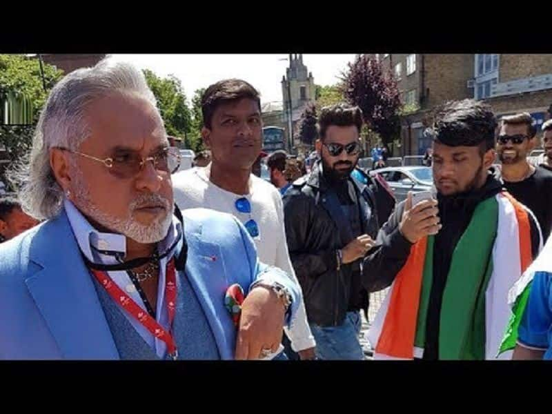 Indians shouted  chor-chor slogan in front of Vijay mallya in London during cricket match
