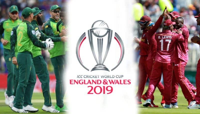 ICC World Cup West Indies to take on South Africa
