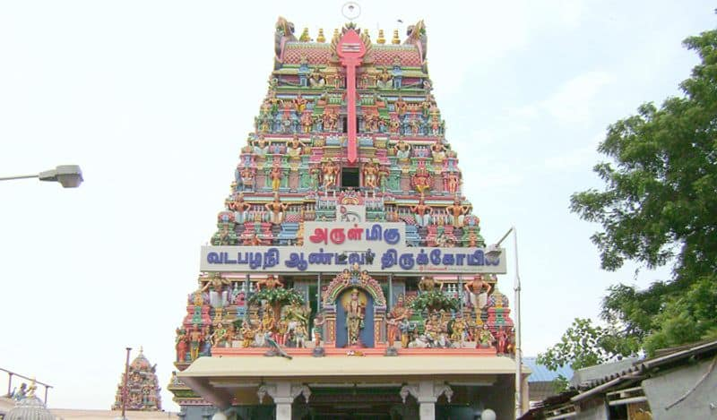 Rs.500 for pooja collection in the temple with MK Stalin's picture