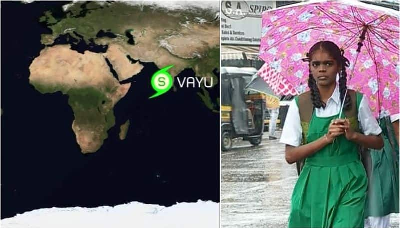 Cyclone Vayu intensifies government closed down school colleges for preventive measures