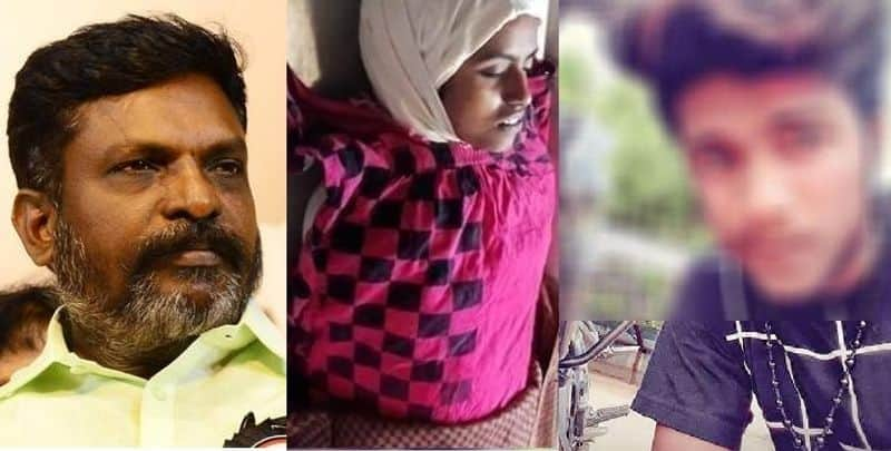 Thirumavalavan Statemenst against Ramadoss regard girl suicide