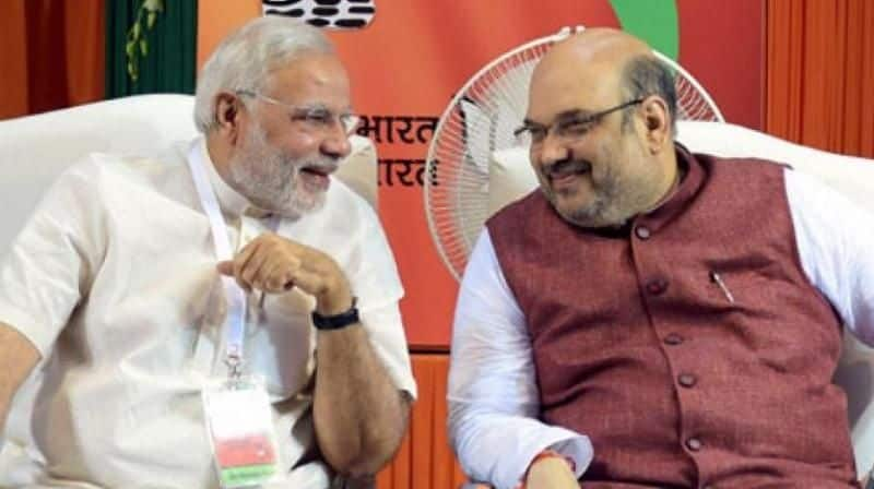 Amit Shah will continue as BJP chief ... BJP decision