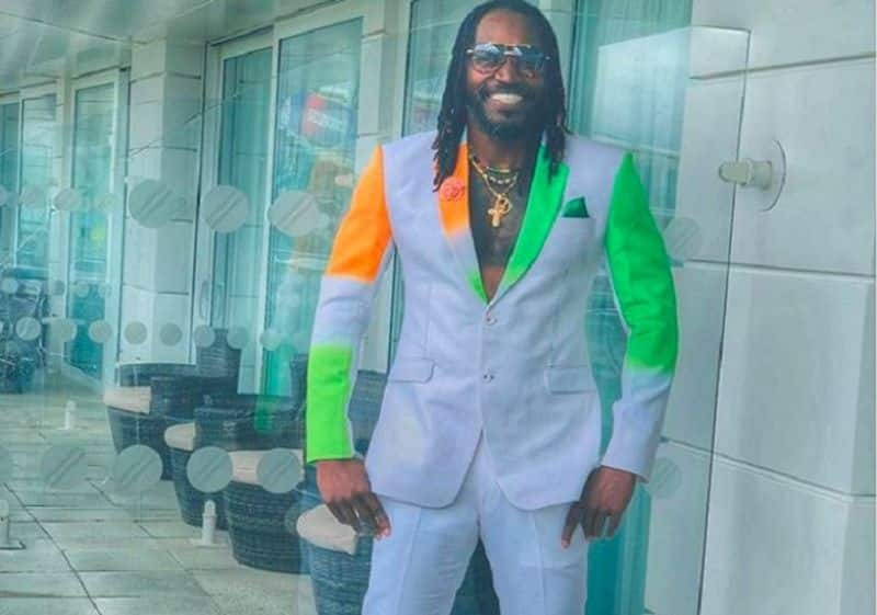 Chris Gayle Gears Up For Mega World Cup 2019 Clash with India-Pakistan Suit