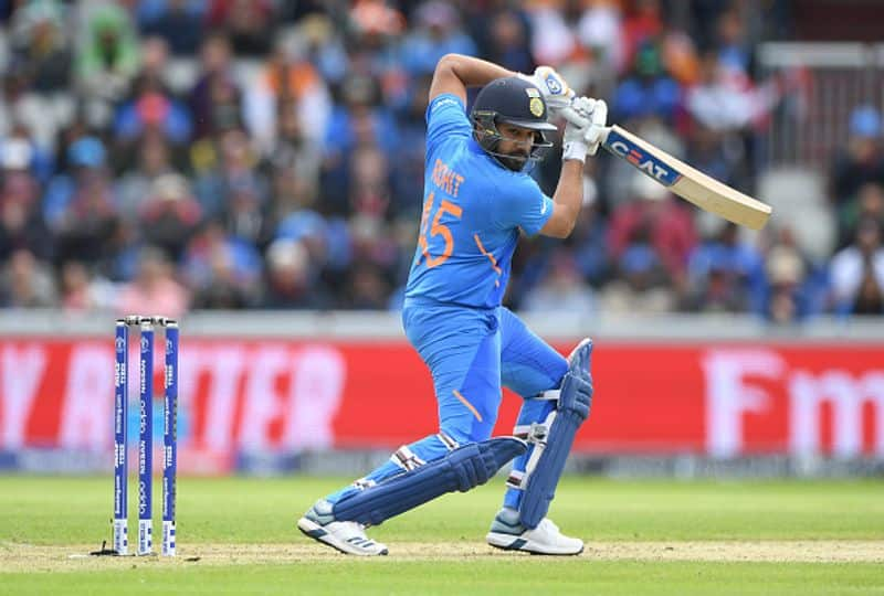 rohit sharma out for one run against afghanistan
