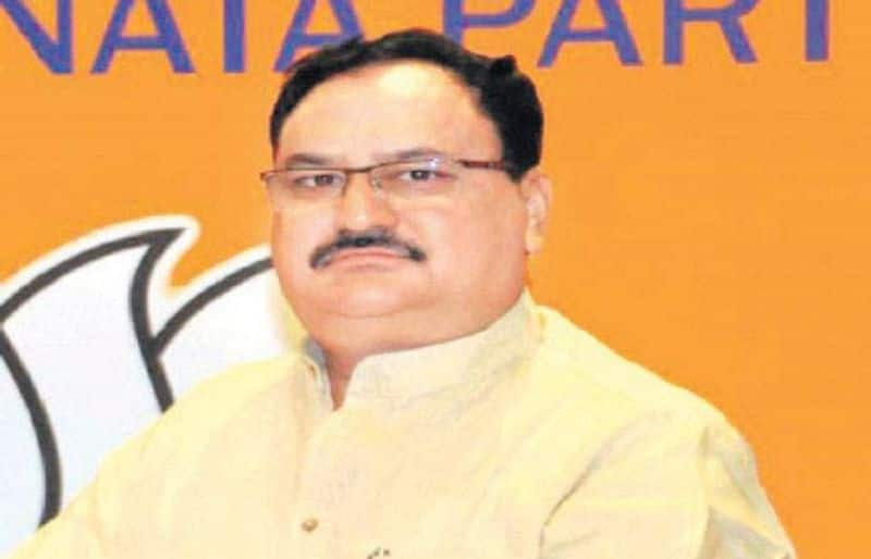 J.B Nadda new leader of BJP