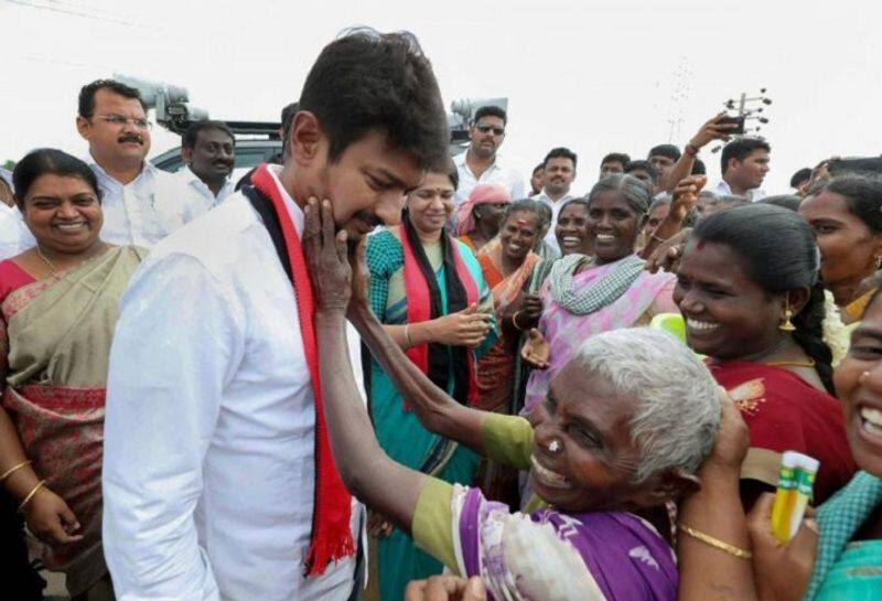 Udayanithi election campaign in vellore
