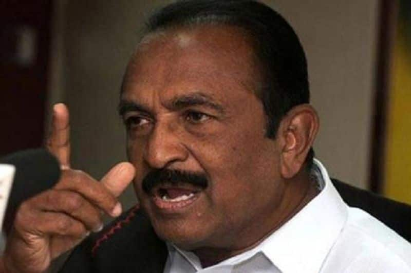 Caste and religious hatred should not be allowed in Tamil Nadu which leads to India ... Vaiko insists ..!