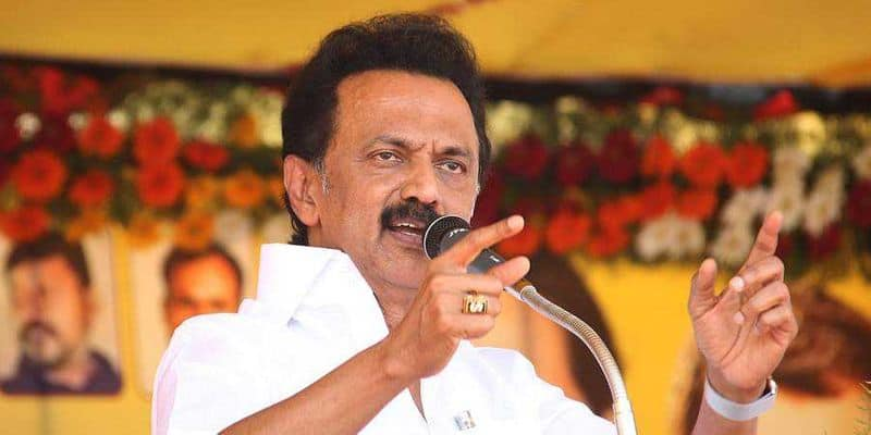 DMK protest in dist for water issue