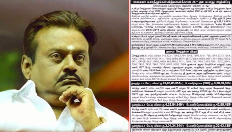 Vijayakanth's wife to hand over party executives to restore house