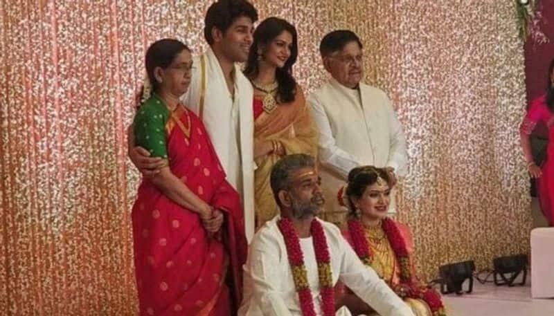 allu arjun not participate in her brother marriage