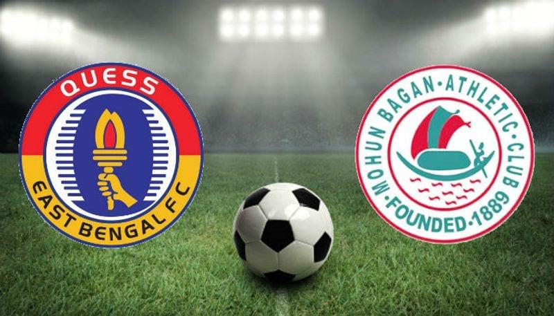 Calcutta Football League East Bengal Mohun Bagan derby inhuman weather