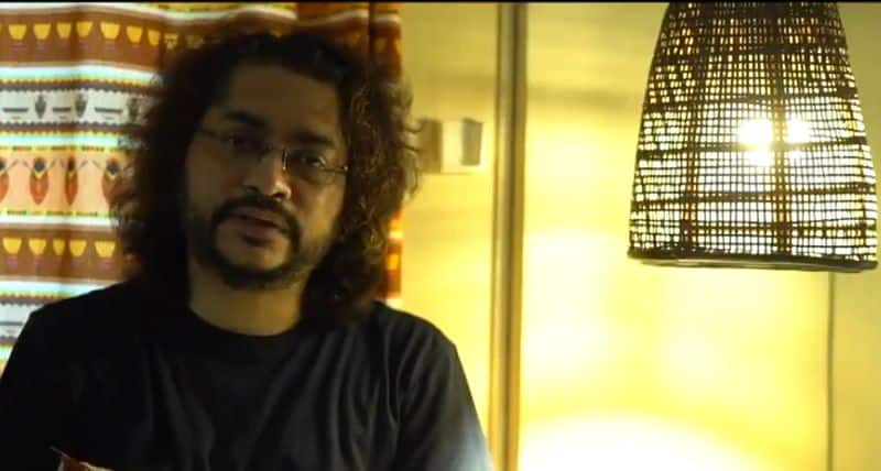 rupam islam formed a song for student protest rally