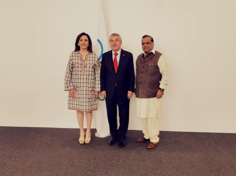 nita ambani requested to host the 2022 olymbic session in mumbai