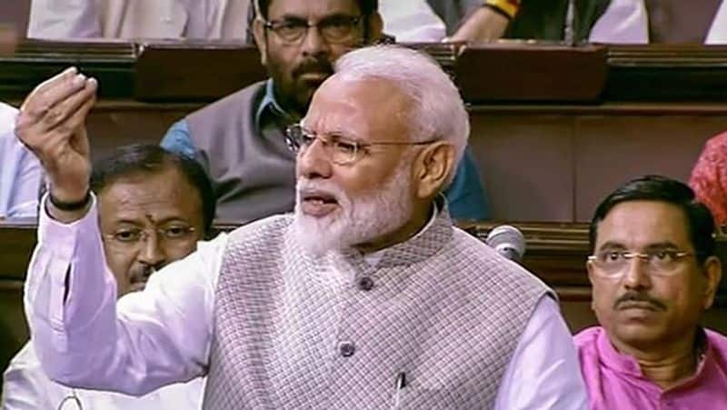 In Motion of Thanks, PM Modi Pitches for one nation one election