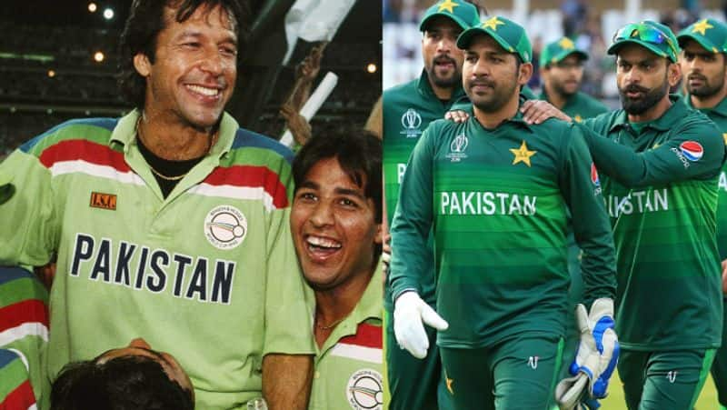Eerie comparison 1992 World Cup 2019 Pakistan repeating history