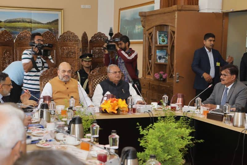 During amit shah visit in valley separatist leaders could not opposed his tour