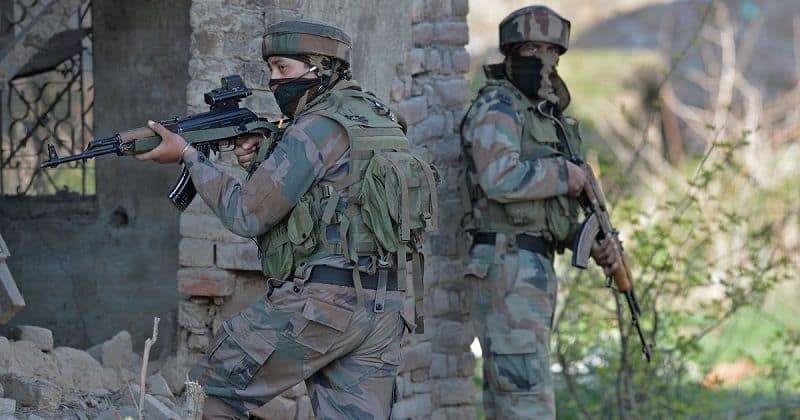 Three terrorists killed in security forces encounter in Jammu and Kashmir, one soldier also martyred