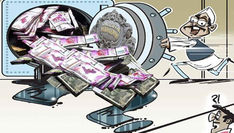 big announcement that the government can make on black money empire