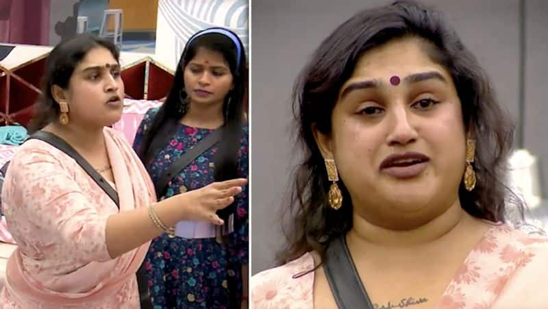 vanitha is in critical position  to handle her legal cases regarding her daughter issues