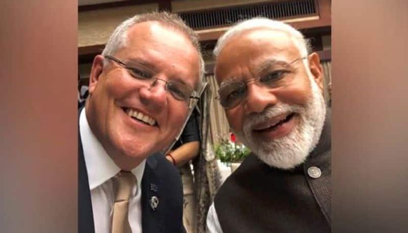 Australian Prime Minister celebrates friendship with Narendra Modi