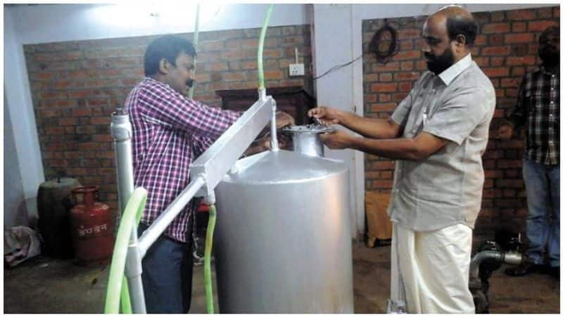 petrol for Rs 40 ... Made from plastic trash