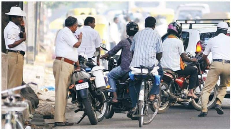 traffic police wil send the penalty bill to home if we didnt obey the traffic rules
