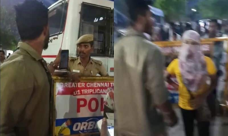 Commissioner of Police AK Vshwanathan action against inspector son