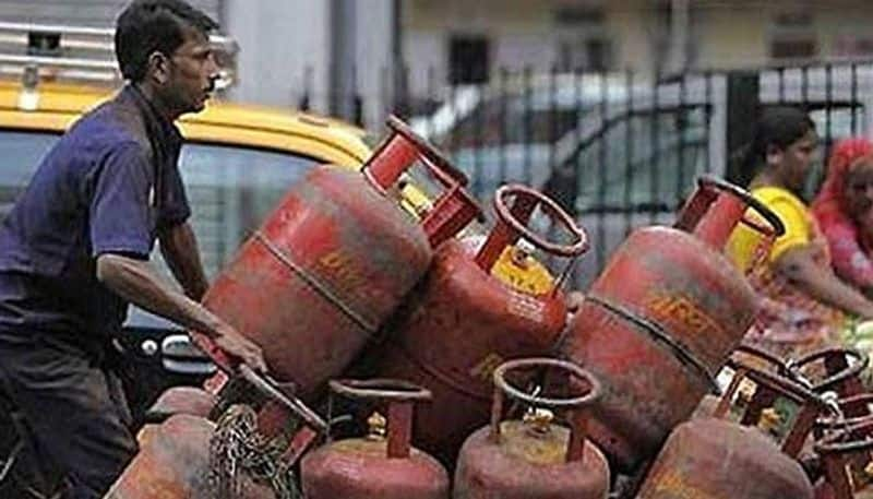 gas cylinder priced reduced