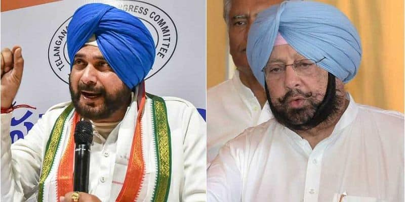 Rahul Gandhi not met to Captain amarinder singh, is leadership saving Sidhu