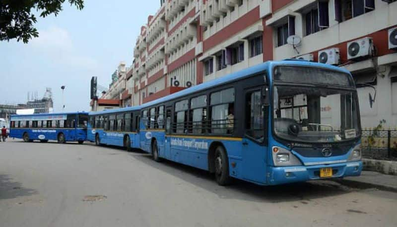 All the buses will be on road from monday in West Bengal