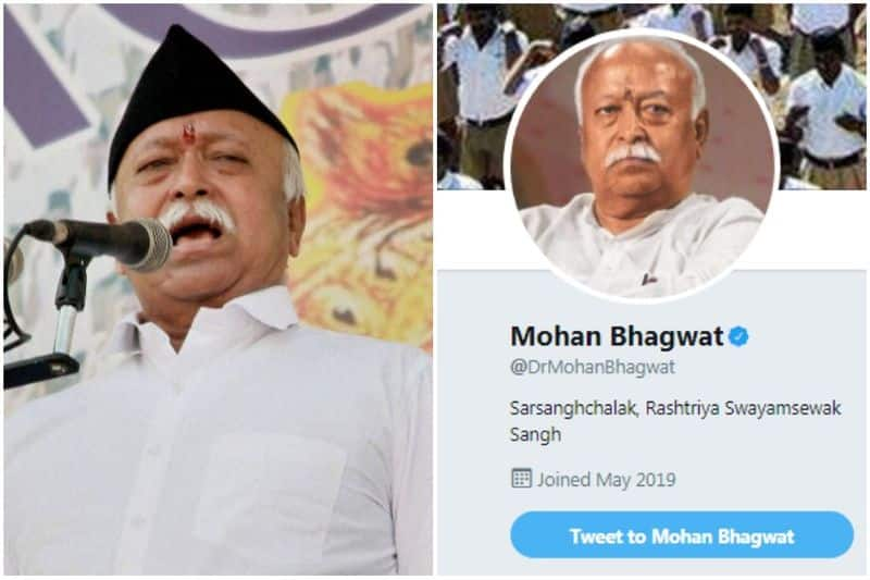 RSS chief Mohan Bhagwat, six top sangh leaders join Twitter