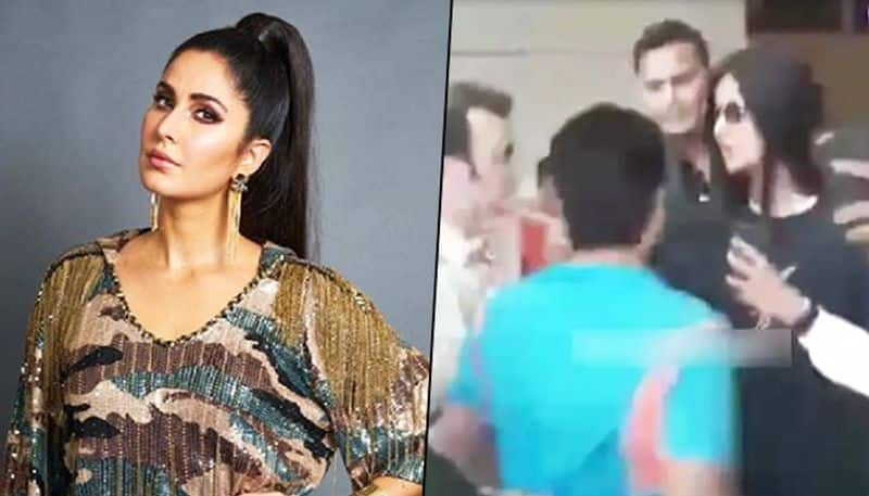 Katrina Kaif harassed by fans at Delhi airport for selfies, controls temper