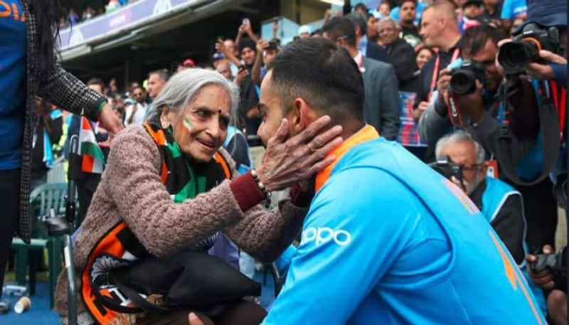 Team India super fan 87 year old charulata patel passed away