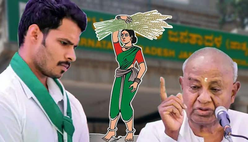 Family politics continues in Karnataka JDS as Deve Gowda elevates grandson Nikhil to new role