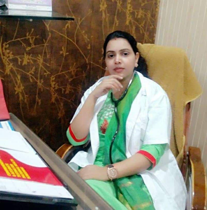 secret of the death of Varanasi woman doctor is open from the video of CCTV camera