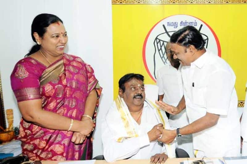 Vijayakanth to open his mouth in his wife's home ..? Action taken by Premalatha ..!