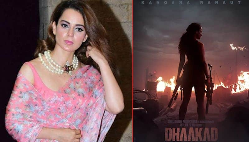 Dhaakad First Look: Kangana Ranaut proves that she is 'queen' of Bollywood