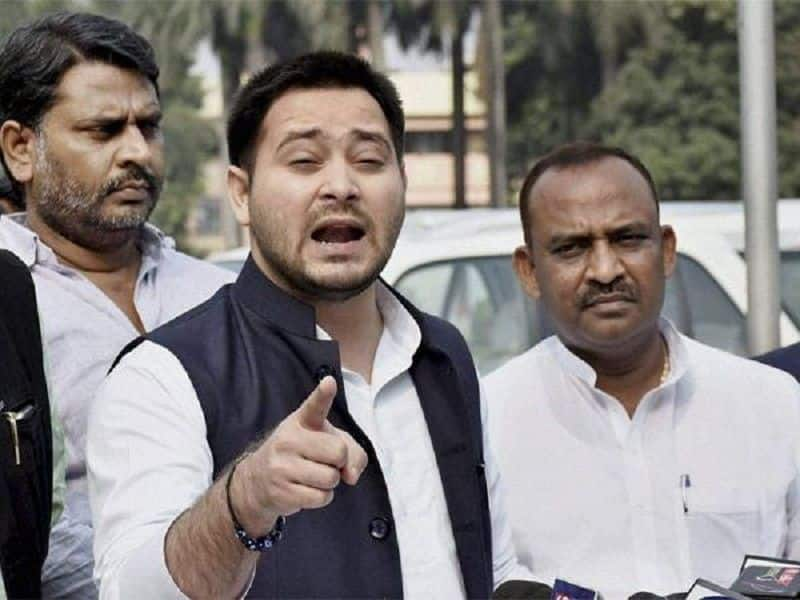 tejashwi yadav made distance from party foundation day, senior leaders scoled him