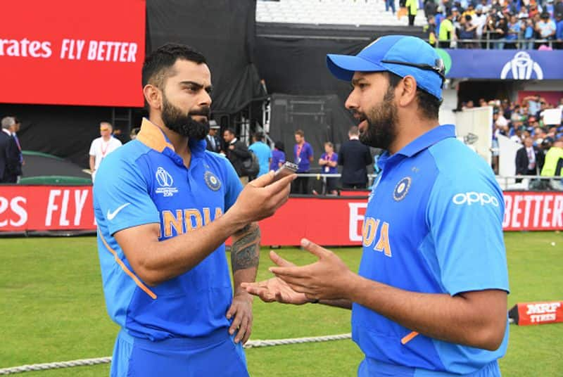 World Cup 2019 Virat Kohli retains top spot ICC ODI batsmen rankings Rohit Sharma bridges gap