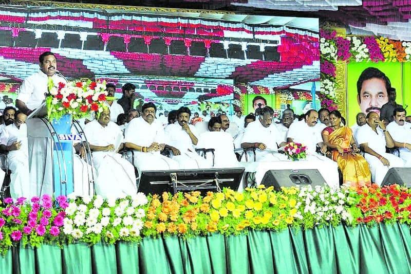 edappadi palanisamy speech in vellore